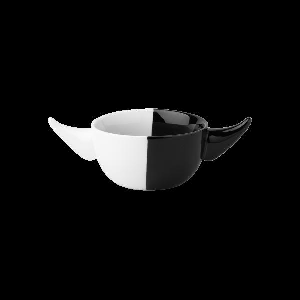 Levně Miska Viking bílo-černá 12 cm - NOISE