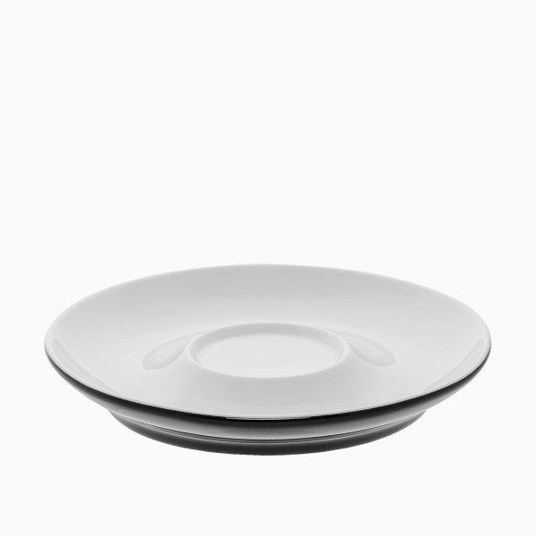 Levně Podšálek na čaj pro jednoho 16,5 cm - RGB černá